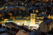 Blick vom Johannisturm - Stadtbad